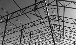 Installation of steel structures