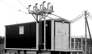 Монтаж временного электроснабжения и освещения