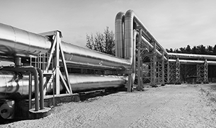 Industrial electric heating of pipelines