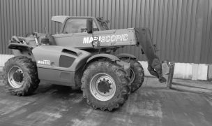 Rent a telescopic loader